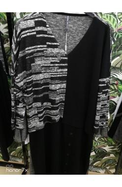 БРАВО цвет черный с отделкой